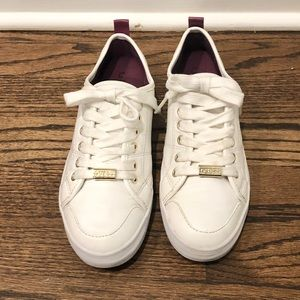 Beautiful Guess Sneakers, White, Size 5.5